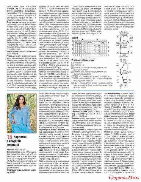 Обзор журнала по вязанию САБРИНА 2/2021