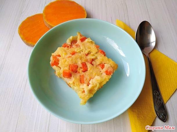 Пудинг из тыквы с яблоками, самый полезный десерт для всех!