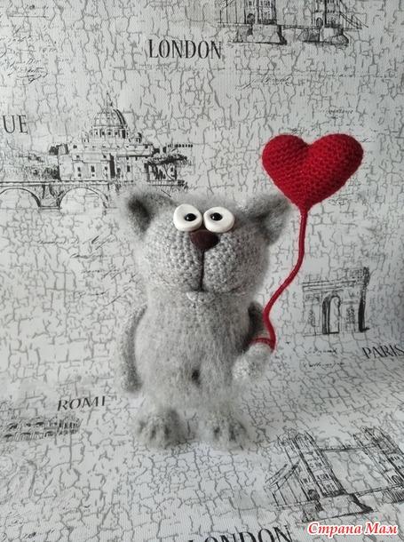 Влюбленный кот.