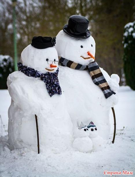 Из жизни снеговиков - 3