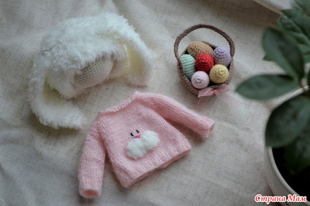 Мастер класс по вязанию Пасхальной куклы