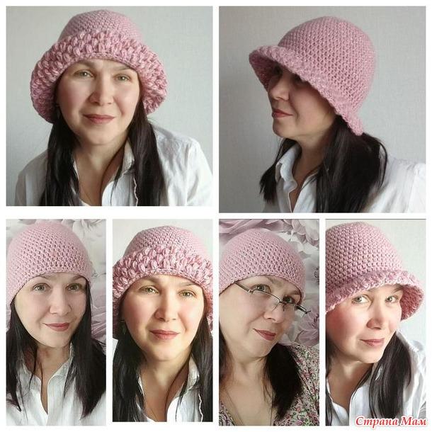 Шляпка или шапка крючком
