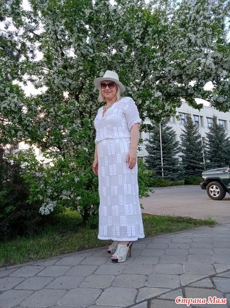 Вдогонку ушедшему лету или  вновь про белые платья...
