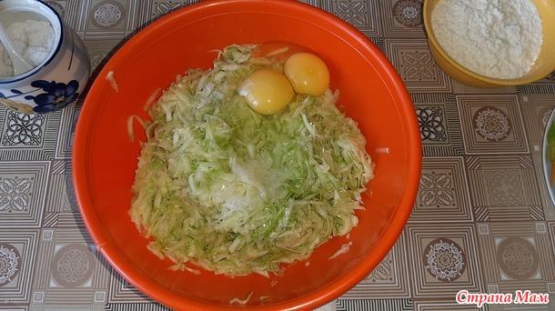 Овощная запеканка из кабачков с помидорами и сыром