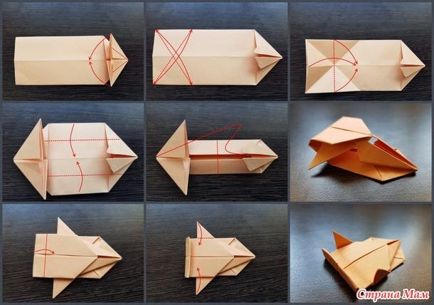 Оригами танк Абрамс со схемой и видеоиллюстрацией.