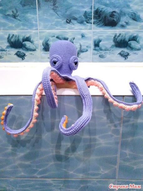 А кто у меня из ванны вылез!