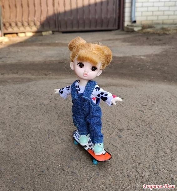 Соня скейтбордистка