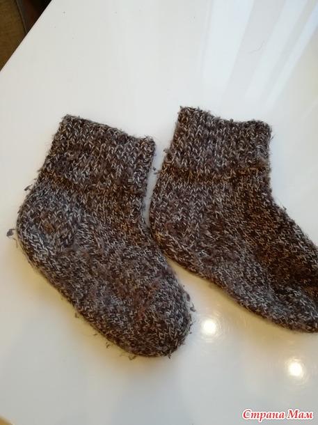 Ещё одно слово о носках