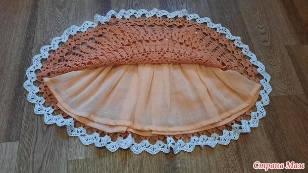 Радуга-2021 оранжевая юбочка.