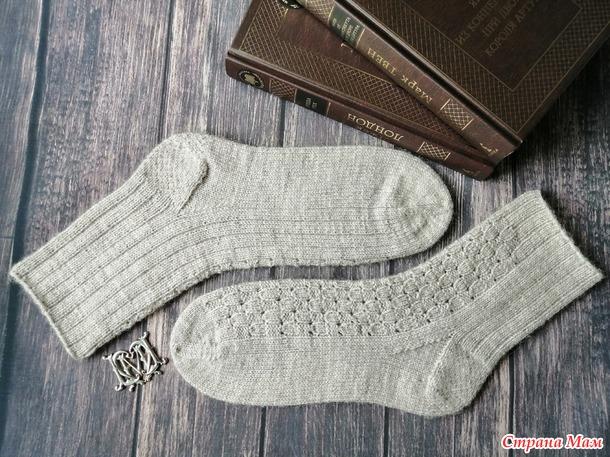 Носочки спицами - 5