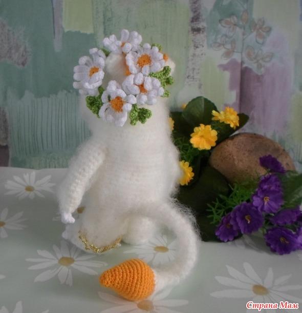Венок из ромашек ( На лугу цветут ромашки)