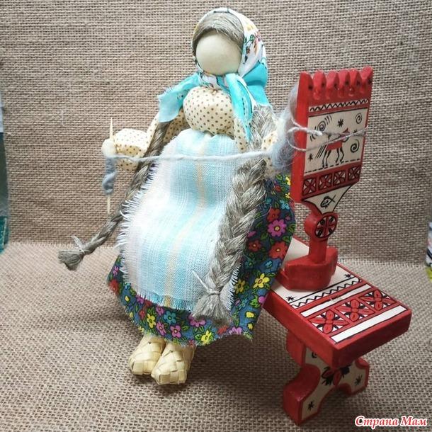 кукла - пряха