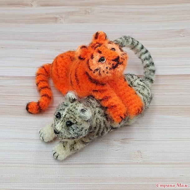Резвый тигрик (авторский МК Светланы Кононенко)