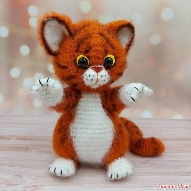 Котята в тигриной шкурке (видео МК, авторское)